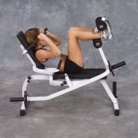ab crunch machine