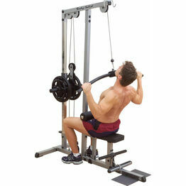 Body Solid Pro-Lat Machine (Plate Load)