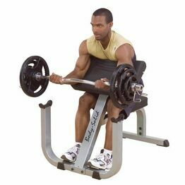 Body Solid Commercial Preacher Curl Bench