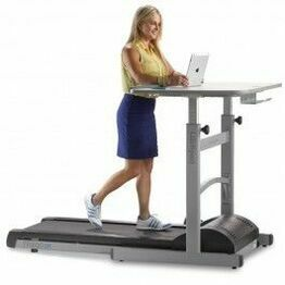 Treadmill + Manual Desk with Bluetooth Display TR800-DT5