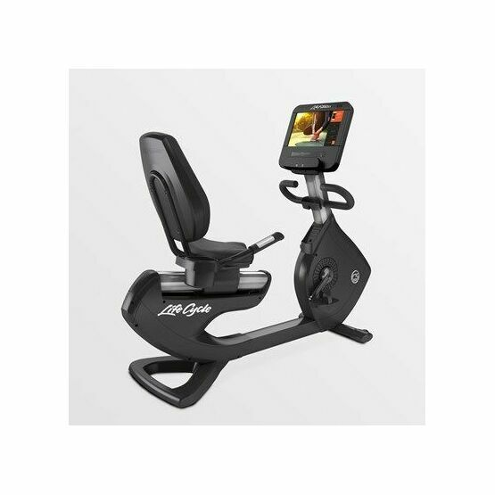 Lifefitness Platinum Club Series Recumbent Bike SE3HD Console (Arctic Silver) - Please call to Pre Order